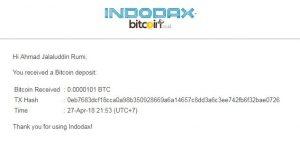CryptoTab Aplikasi Mining BTC Gratis - Bukti Pembayaran Ke 5