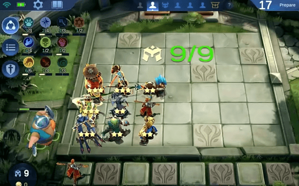 6 Dragon Altar + 4 Sumoner + 3 Guardian + 2 Celestial + 1 Unded