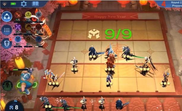 6 Fighter + 3 Assasin + 2 Cyborg + 2 Empire