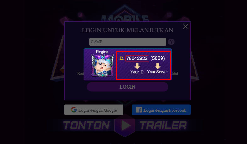 Cara Login Activity Mobile Legends All Star 2020 Terbaru by Topglobal1
