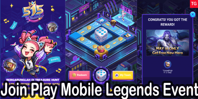 Join Play Mobile Legends Event 515 eParty 2020