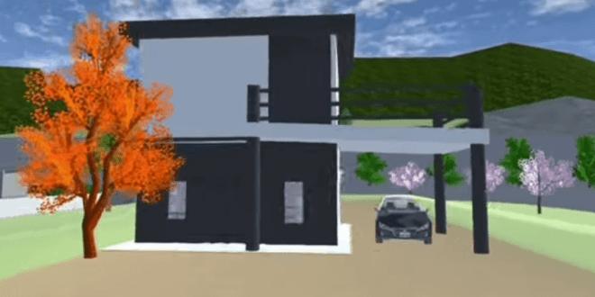 Cara-Membuat-Rumah-Di-Sakura-School-Simulator