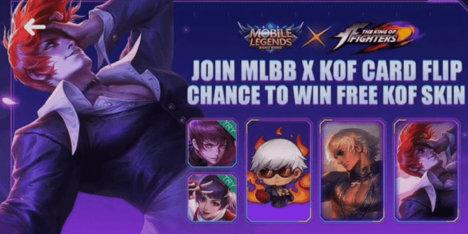 play mobilelegends com Event KOF, FREE KOF SKIN! 2020