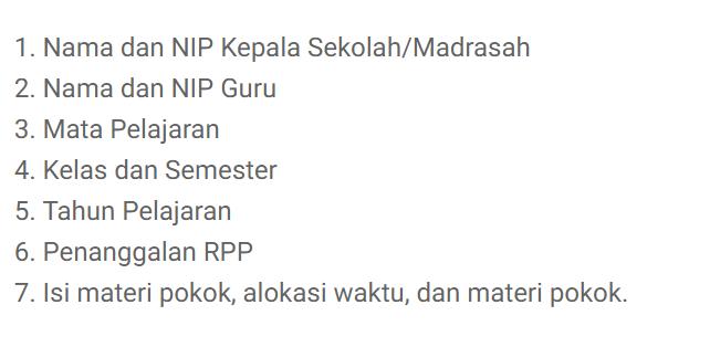 Biodata sekolah RPP 1 Lembar
