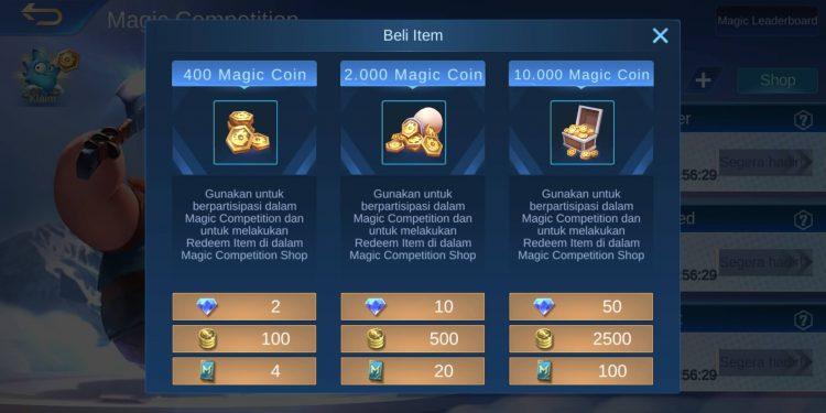 Cara Membeli Magic Coin Di Magic Chess1