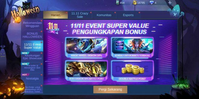 Event 11.11 Mobile Legends