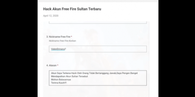 Hack Akun Free Fire By Angga Widi, 100% Berhasil Atau Tidak