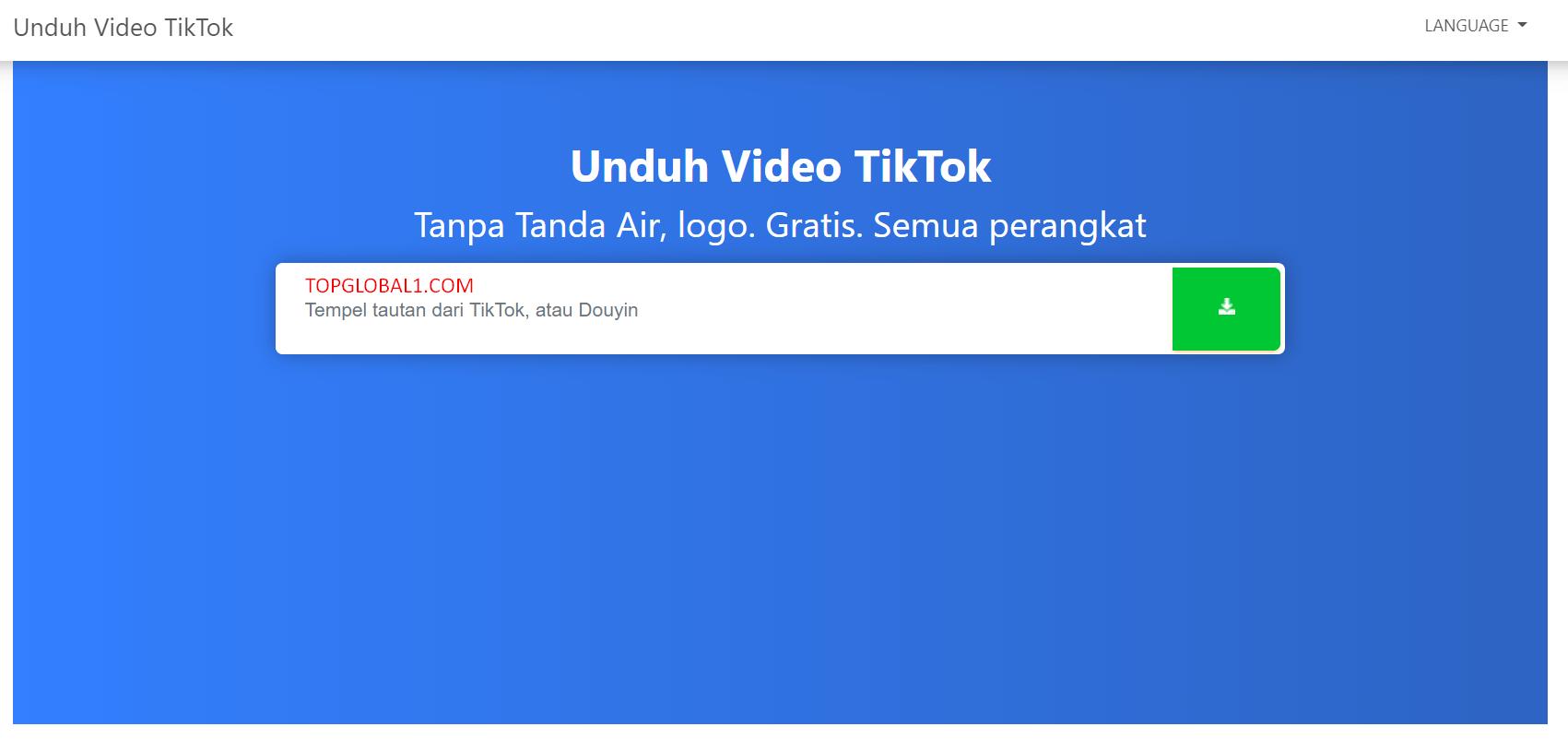 Download Video Tiktok Tanpa Logo Terbaru Tanpa Aplikasi
