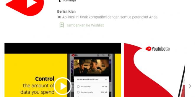 Download Youtube Go Versi Lama