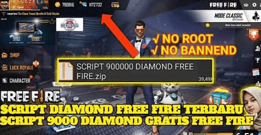Download Script 90000 Diamond Free Fire Zip Terbaru Topglobal1