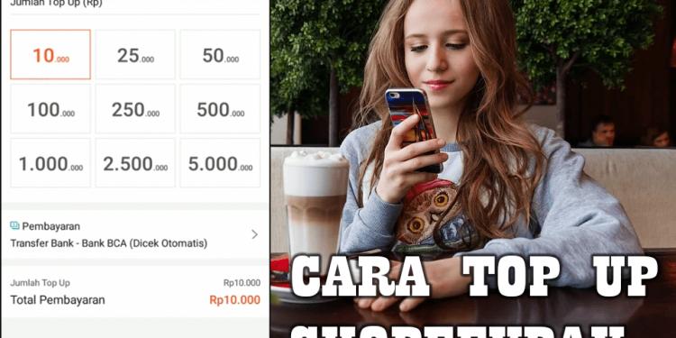Cara Isi Saldo ShopeePay Lewat Bank, Indomaret dan Alfamart