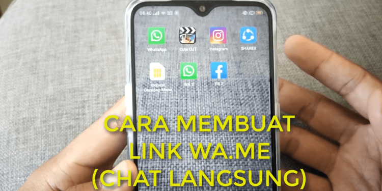Cara Membuat Link WA Menuju Chat Pribadi