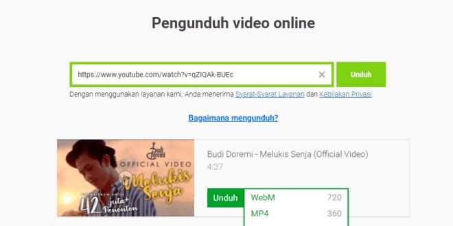 Cara Mendownload Video dari YouTube Tanpa Aplikasi