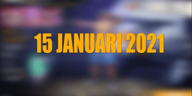 KODE REDEEM FF 15 JANUARI 2021 TERBARU HARI INI DAN INFO PEMENANG GIVEAWAY