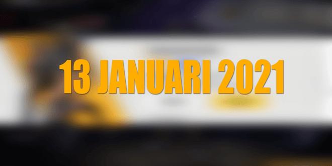 Kode Redeem FF 13 Januari 2021 Terbaru Hari Ini