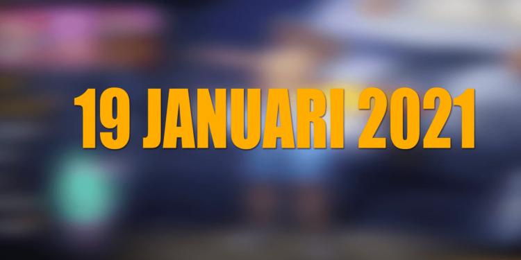 Kode Redeem FF 19 Januari 2021 Terbaru Hari Ini