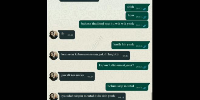 Cara Chat WA Wik Wik Paling Ampuh