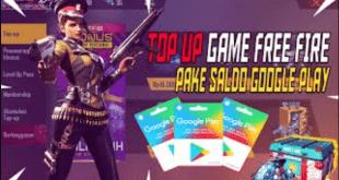 Cara Top Up Diamond Free Fire Menggunakan Saldo Google Play