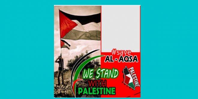 Twibbon Bentuk Dukungan Untuk Palestina