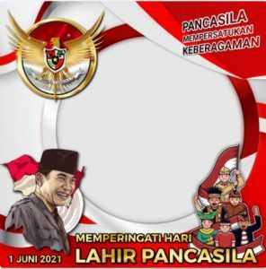 Twibbon Hari Lahir Pancasila