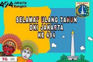 Poster HUT Jakarta Ke 494