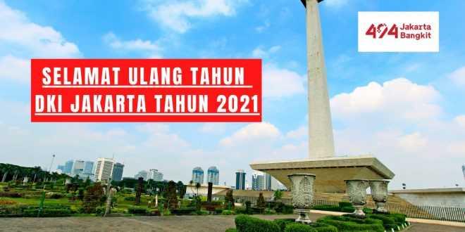 Ucapan HUT Jakarta Ke 494