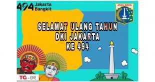 Poster HUT Jakarta