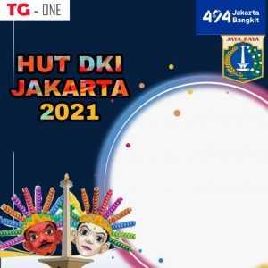 Twibbon Hut Jakarta Ke 494