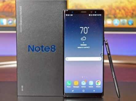 Hp Second Samsung Note 8