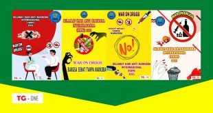 Poster Hari Anti Narkoba Internasional 2021