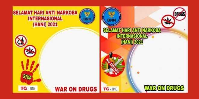 Twibbon Hari Anti Narkoba Internasional 2021