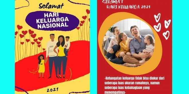 Poster Hari Keluarga Nasional 2021