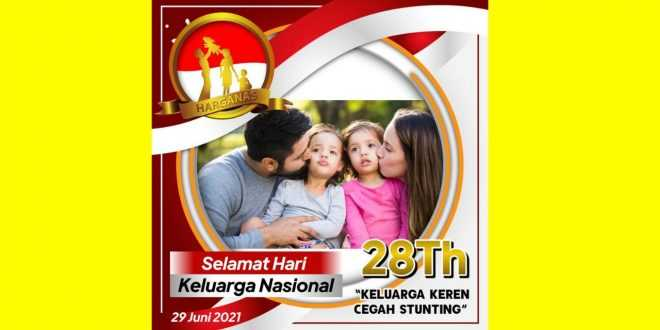 Twibbon Hari Keluarga Nasional 2021
