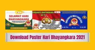 Poster Hari Bhayangkara 2021