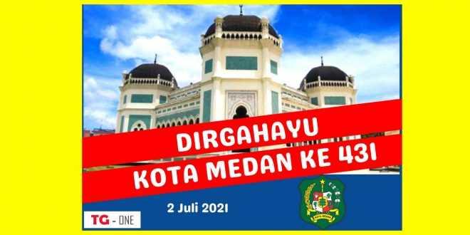 Poster Hut Kota Medan Ke 431