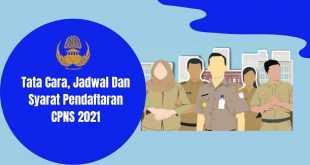 Pendaftaran CPNS 2021