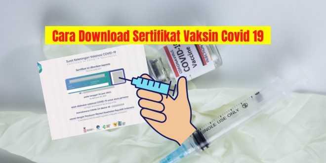 Sertifikat Vaksinasi Covid 19