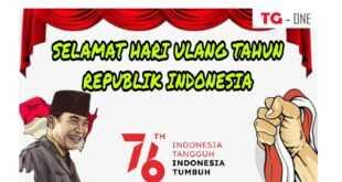 Poster HUT RI Ke-76